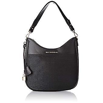 Mac DouglasGARY RYMEL - Black Women's Crossbags (Noir MH01)) Taille: M /6x30x32 cm (W x H x L)