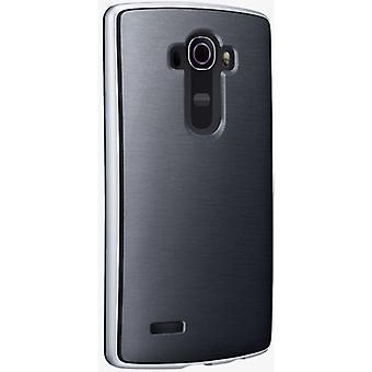 5 pack - Verizon zachte Cover Bumper Case voor LG G4 - zwart/zilver