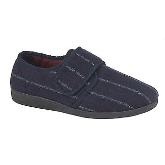 Sleepers Mens Carl Touch Fasten Slipper