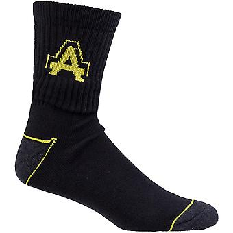 Amblers Safety Mens Heavy Duty Contrast 1 Pair Socks