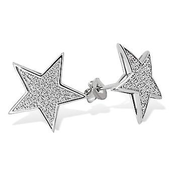 Goldmaid - Women's lobe earrings with cubic zirconia - sterling silver 925