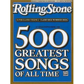 RollingStone guitar classics - volume 2 - Classic Rock to Modern Rock