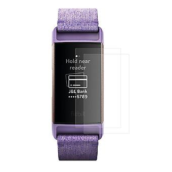 2-pack HAT PRINCE Fitbit Charge 3 soft Nano Super Screen protector