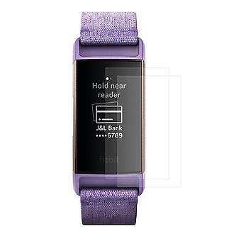 2-Pack HAT PRINCE Fitbit Charge 3 weichen Nano Super Screen Protektor