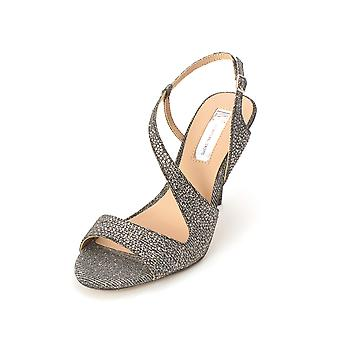 INC International Concepts Womens Renita Fabric Open Toe Casual Ankle Strap S...