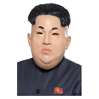 Mens dittatore coreano Overhead maschera costume accessorio