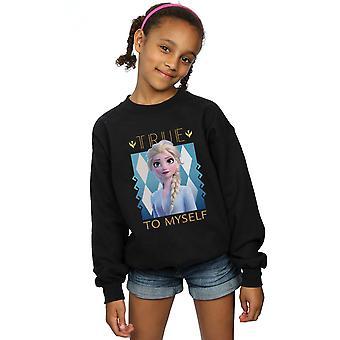Disney Mädchen gefroren 2 Elsa true to myself Sweatshirt