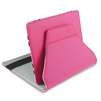 LEO 7-quot; Universal Pink Outer/Grey Inter Tablet Cover
