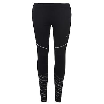 Asics Womens Lite Show 2 Warm Winter Running Strumpfhosen Leggings Sport Böden