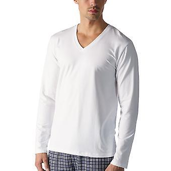 Mey 46520-101 Men's Dry Cotton Colour White Long Sleeve Top