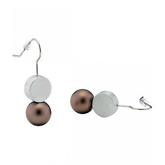 Clic Earring O32BROWN