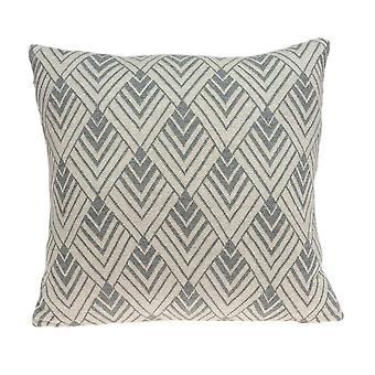 """20"""" x 7"""" x 20"""" Hermosa cubierta de almohada de algodón bronceado de transición con inserción de polietileno"""