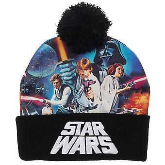Beanie Cap - Star Wars - Sublimated Crown New kc8bdzstw
