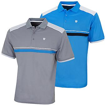 Island Green Mens Moisture Wicking Quick Drying Golf Polo