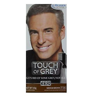 Just For Men 3 X Just For Men Touch Of Grey - T35 Medium Brown / Grey