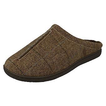 Mens Cushion-Walk Mule Slippers Gary