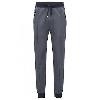 Hugo Boss Leisure Wear Men's Dark Blue Jogging Bottoms