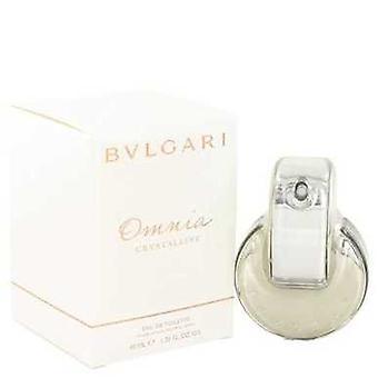 Omnia Crystalline By Bvlgari Eau De Toilette Spray 1.3 Oz (women) V728-423257