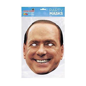 Silvio Berlusconi Celebrity Gesichtsmaske