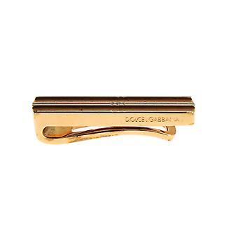 Dolce & Gabbana vergoldet Messing Krawatte Clip