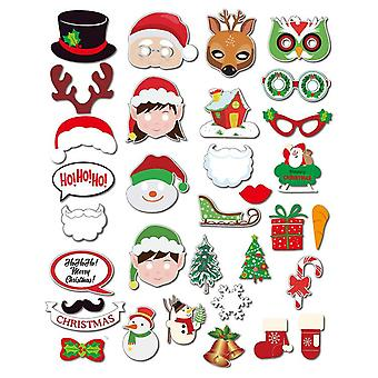 Christmas Party Photo Booth Props for Xmas Theme Functions