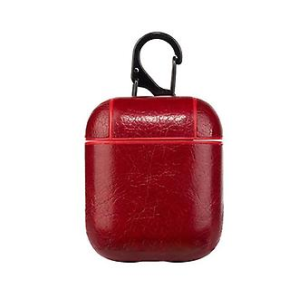 Protective case for Airpods, red