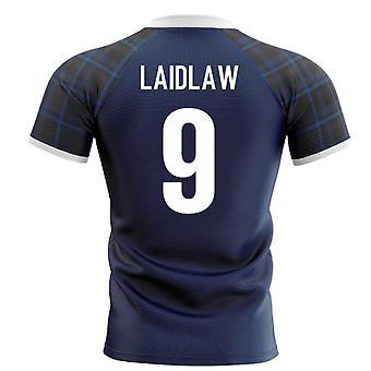 2020-2021 Škótsko Home Concept Rugby Shirt (Laidlaw 9)