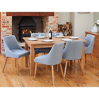 Baumhaus Bundle Mobel COR04B Table With 6 x COR03L Chairs
