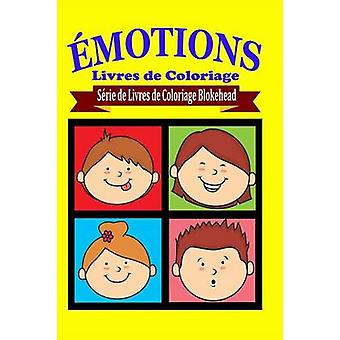 Emoties livres de Coloriage van Le Blokehead