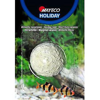Nayeco Calcium block fish food holiday (Fish , Food , Warm Water)