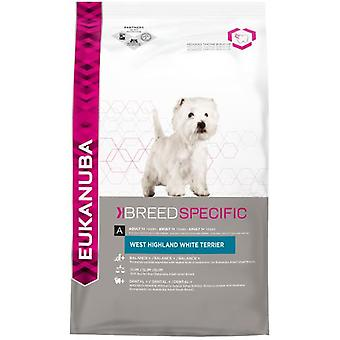 Eukanuba West Highland White Terrier Chicken (Dogs , Dog Food , Dry Food)