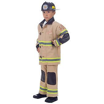 رجل اطفاء زي الطفل