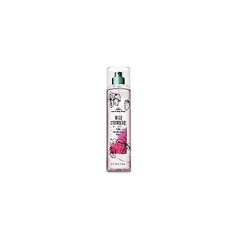 (2 Pack) Bad & Body Works Wild Strawberry Fine Fragrance Mist 8 fl oz / 236 ml
