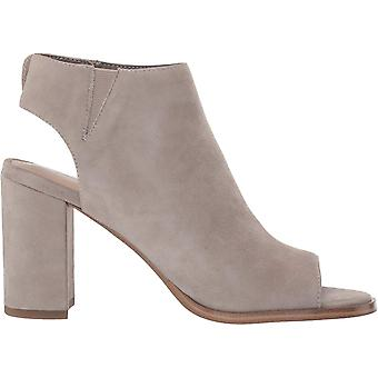 206 Collective Womens Tilly Suede Peep Toe Ankle Fashion Boots