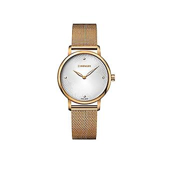 WENGER Ladies Quartz analogue watch with stainless steel band 01.1721.114