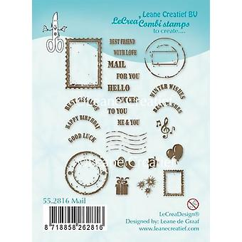 LeCrea Clear Stamp – Mail