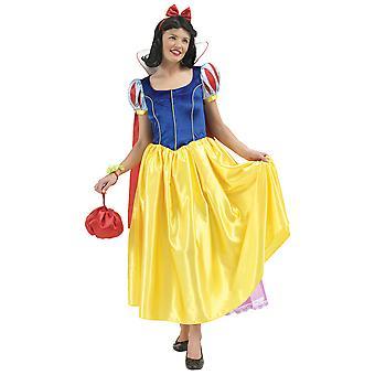 Snow White Womens/Ladies Fancy Dress Costume