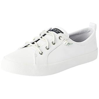 Sperry Womens Crest Vibe AP leder laag bovenste Lace Up Fashion Sneakers
