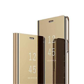 FONU Clear View Fall Hoesje Samsung Galaxy A70 - Blauw