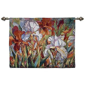 Wall hanging-white flower | tapestry wall hangings - available in two sizes