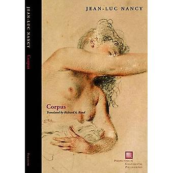 Corpus di Jean-Luc Nancy - 9780823229611 Libro