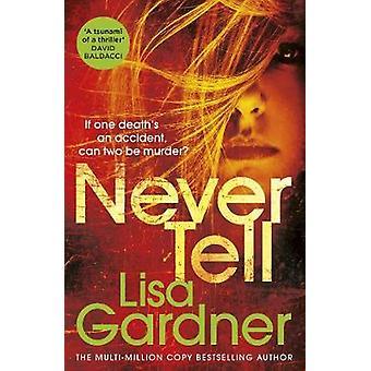 Never Tell by Lisa Gardner - 9781784758639 Book