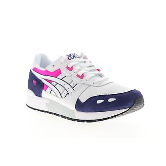Asics Gel Lyte  Mens White Mesh Low Top Lifestyle Sneakers Shoes