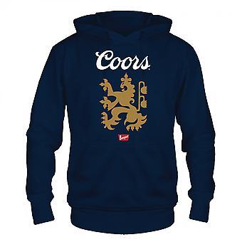 Coors Banquet Lion Logo Sininen Huppari