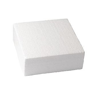 Culpitt Square Straight Edged Polystyrene Cake Dummy - 7