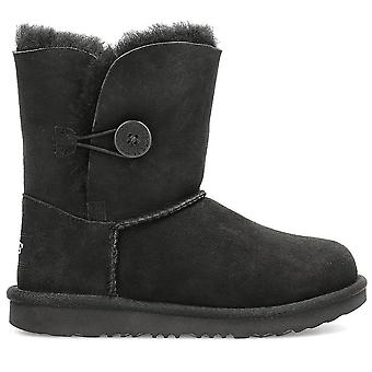 UGG Bailey Button 1017400KBLACK universal winter kids shoes