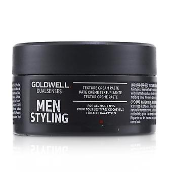 Doppi sensi uomini styling texture crema pasta (per tutti i tipi di capelli) 233122 100ml/3.3oz