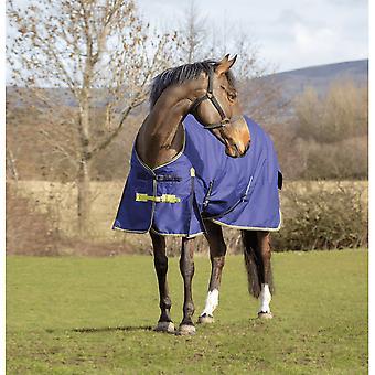 Asker 200g Pferd Standard Hals Weichen Teppich - Navy Blue