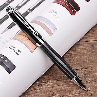 Carbon Fibre Black Rollerball Pen Biro Ball Point