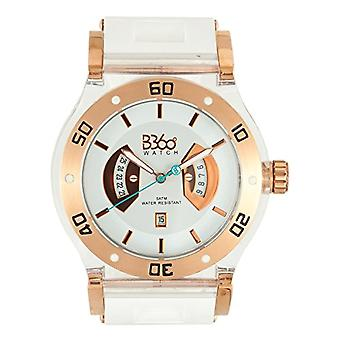 B360 WATCH Unisex watch ref. B CLASS WHITE GOLD CLEAR L